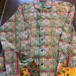 Robert Graham shirt limited edition Large